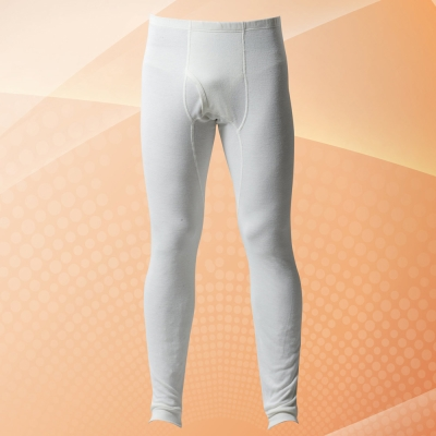 DADADO 中空紗保暖長管褲M-LL 2件包(純白)