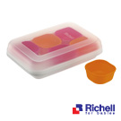 Richell日本利其爾 離乳食分裝盒-25ml(6入)