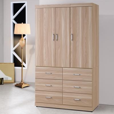 Homelike 霍爾4X7衣櫃-114x54x203cm