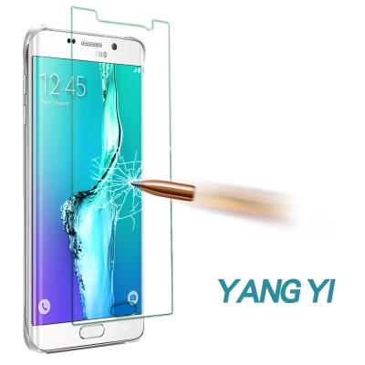 YANGYI 揚邑 Samsung S6 edge+ 防爆防刮防眩 9H鋼化玻璃...