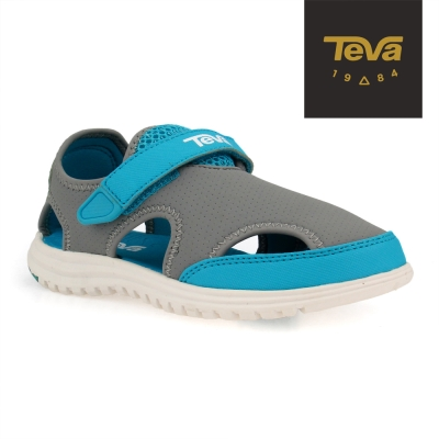 TEVA 美國 中童 K Tidepool 運動涼鞋(灰藍)