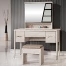 H&D 瑪奇朵4尺鏡台(含椅)120.5x54.5x159.5CM