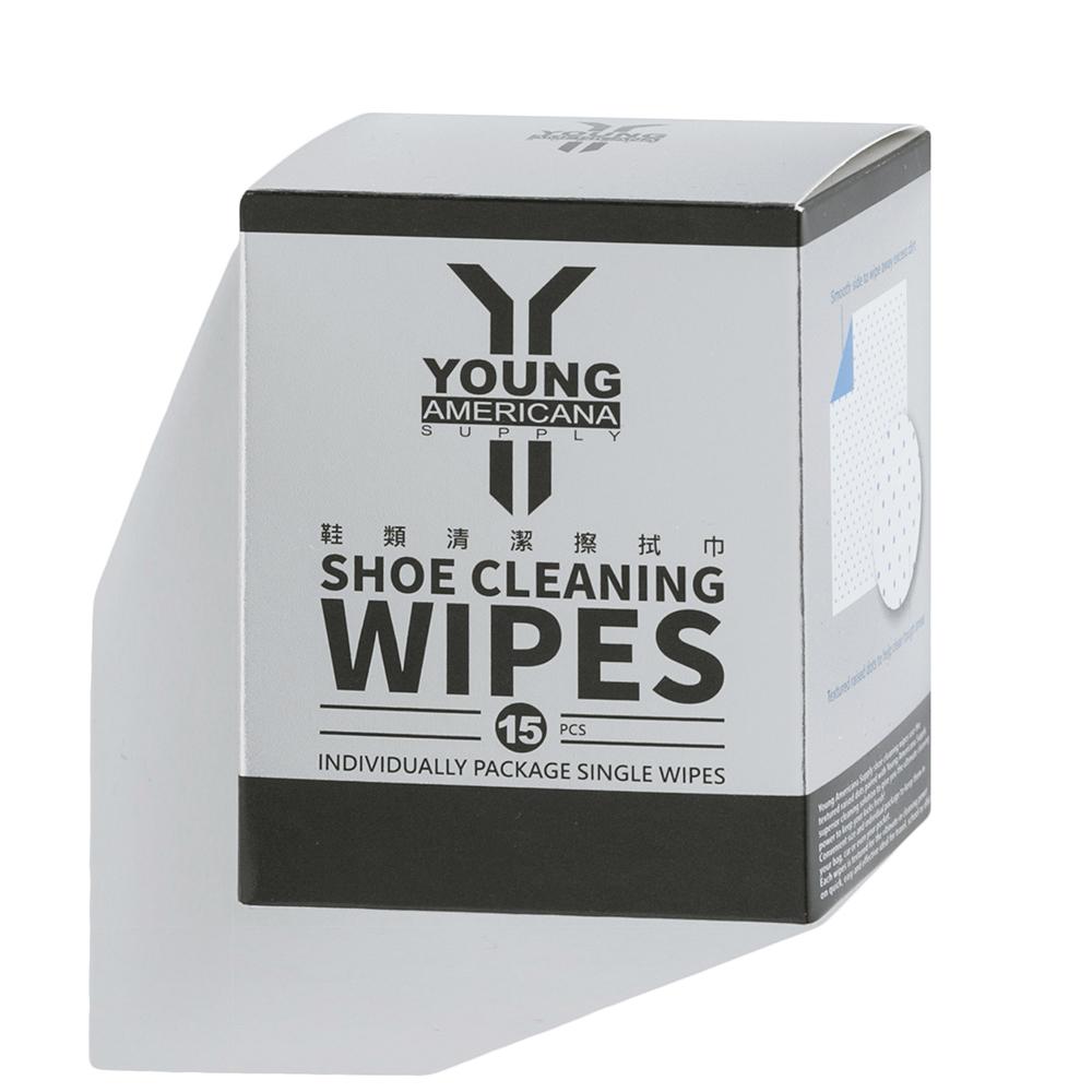 Y.A.S 美鞋神器 鞋類清潔擦拭巾-15片裝