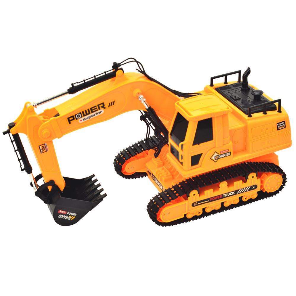 《遙控工程系列》遙控360度旋轉怪手挖土機工程車 附全套充電配備