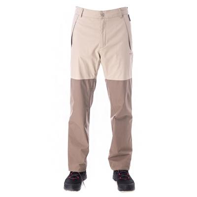 【hilltop山頂鳥】男款GoreTex防水透氣保暖長褲H31MJ2卡其