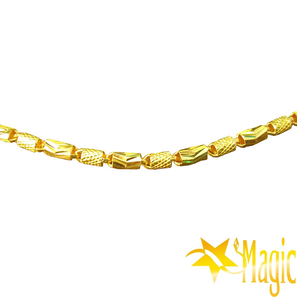 Magic魔法金-富貴連連黃金項鍊(約3.8錢)