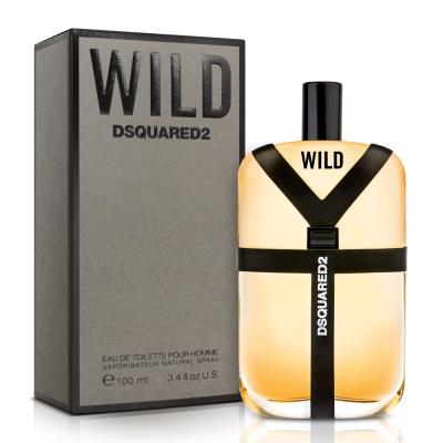DSQUARED2 WILD 男性淡香水100ml 送品牌小香