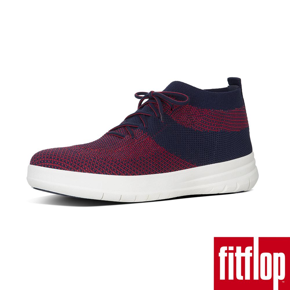 FitFlop TM-UBERKNIT TM SLIP-ON HIGH 藍/紅