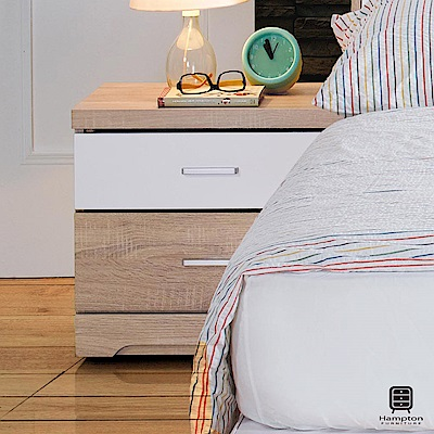 漢妮Hampton朵勒絲系列床頭櫃-52x40x46cm