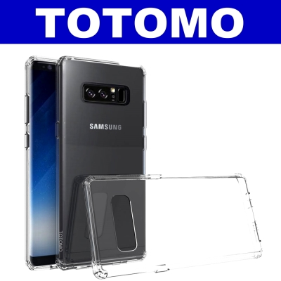 TOTOMO  For:三星NOTE8 防摔保護殼(高顏質超透感硬背板)-全透