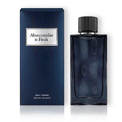 A&F Abercrombie&Fitch 湛藍男性淡香水100ml