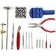 WISH DIY 鐘錶16件工具組 換電池/拆錶帶/保養/維修-快速到貨 product thumbnail 1