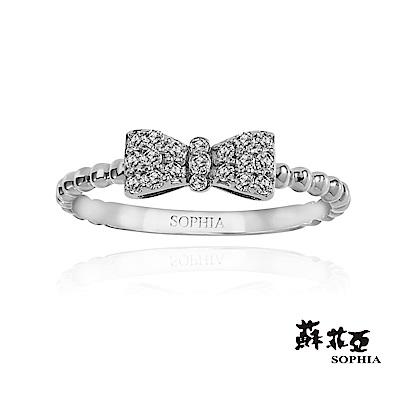 蘇菲亞SOPHIA - Love Bow系列二鑽石尾戒