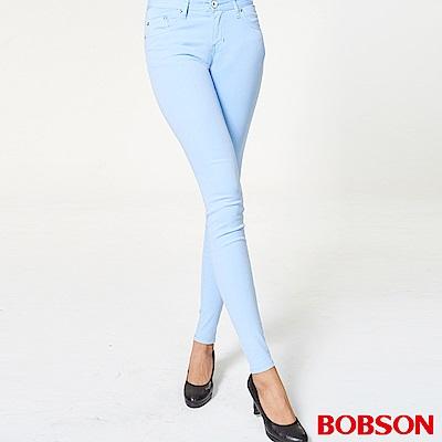 BOBSON 粉彩色套染緊身褲