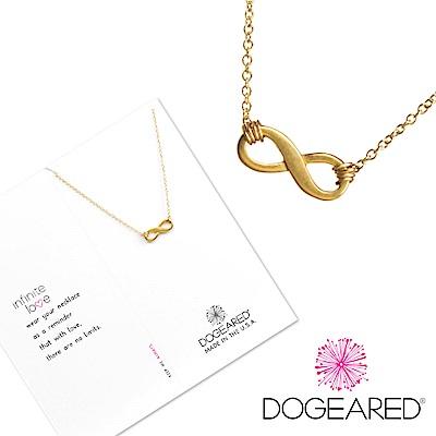 Dogeared 許願金項鍊 愛無限 Infinite Love Necklace附原廠盒