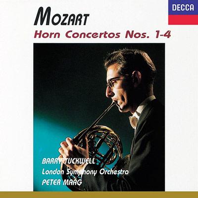 莫札特:法國號協奏曲第 1 ~ 4 號