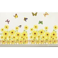 花草系列大尺寸創意壁貼