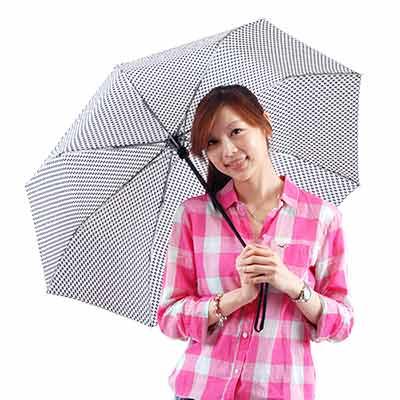 Those-days-日式千鳥-自動開合晴雨傘-1支入