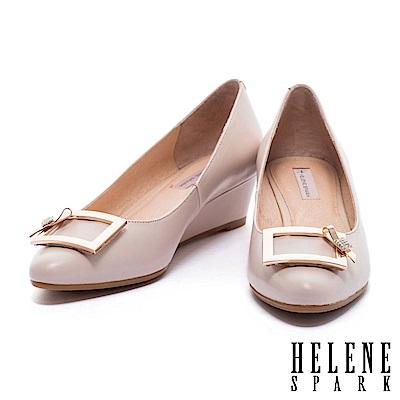 楔型鞋-HELENE-SPARK-典雅魅力水鑽緞帶