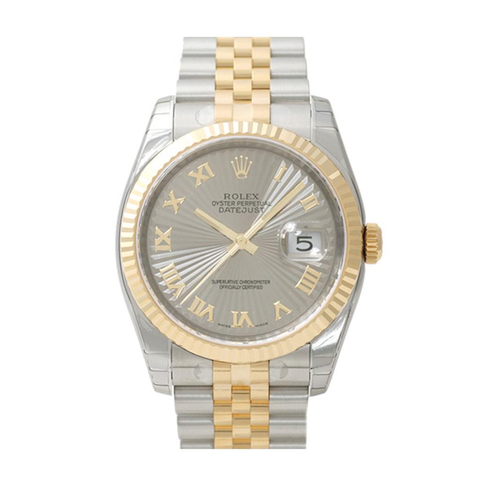 ROLEX 勞力士 DateJust 116233 蠔式恆動日誌型錶 -太陽羅馬字銀面/37mm