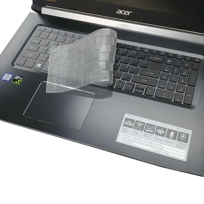 EZstick ACER Aspire 7 A517~51 奈米銀抗菌 TPU 鍵盤保護膜