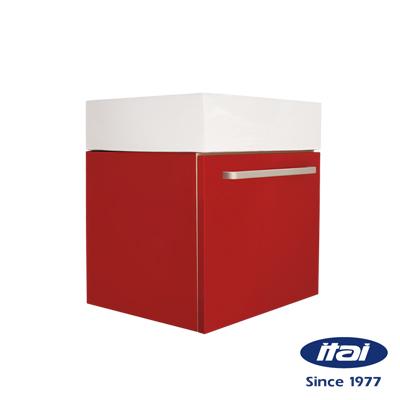 ITAI 一太 美式防水浴櫃 ET-377 (紅)
