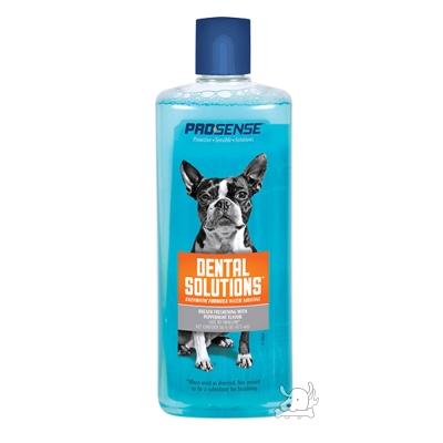 8in1 美國 PRO SENSE 愛犬專用 潔牙水 16oz X 1罐