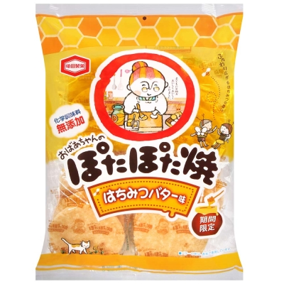 龜田 蜂蜜奶油風味婆婆燒(134g)