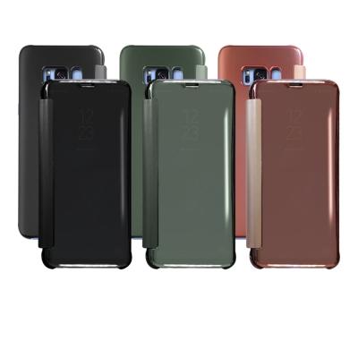 LUCCIDA Samsung Galaxy S8 時尚電鍍鏡面皮套