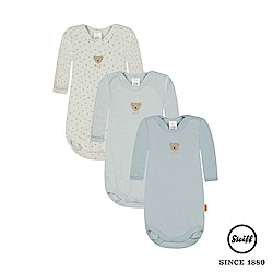 STEIFF德國精品童裝 - 三件式 長袖包屁衣(新生兒系列)