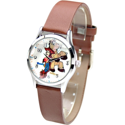 Disney迪士尼 玩具總動員造型腕錶-白/31mm