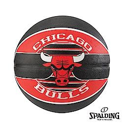 SPALDING 斯伯丁 NBA 隊徽球 公牛 Bulls 籃球 7號