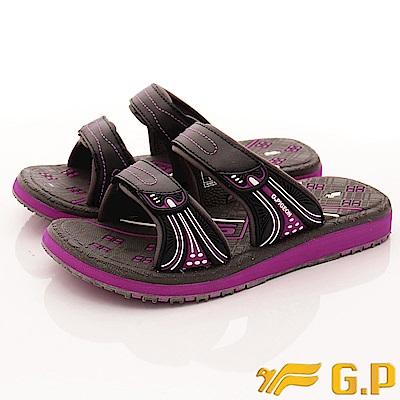 GP時尚涼拖-休閒舒適拖鞋款-SE559W-47灰紫(女段)