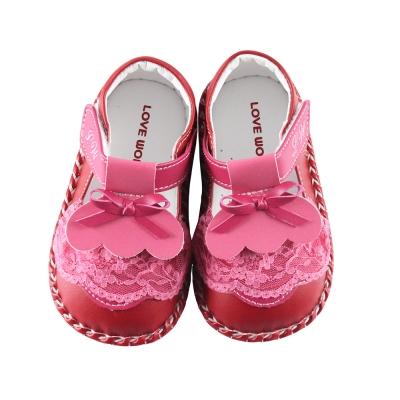 愛的世界 蓬蓬裙寶寶鞋/學步鞋 -台灣製-
