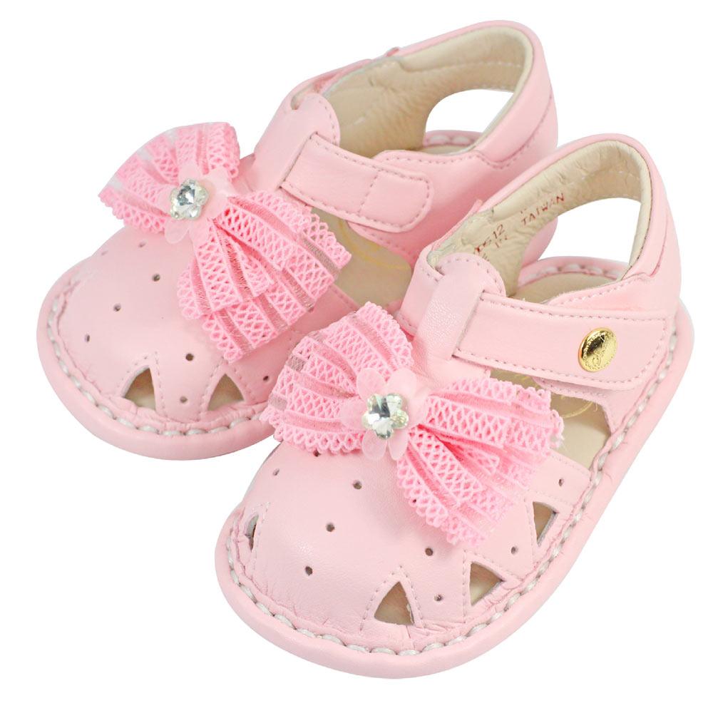 Swan天鵝童鞋- 小櫻花寶寶涼鞋1512-粉