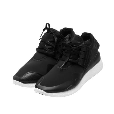 Y-3 adidas山本耀司RETRO BOOST尼龍運動休閒鞋(黑)