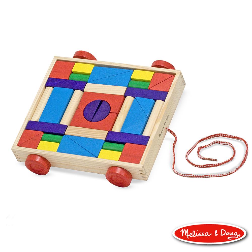 (益智任選) 彩色積木拖車 - 36pcs 原價799