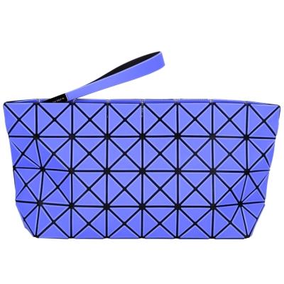 三宅一生BAO BAO ISSEY MIYAKE PRISM-2 4x8藍紫霧面大型手拿包