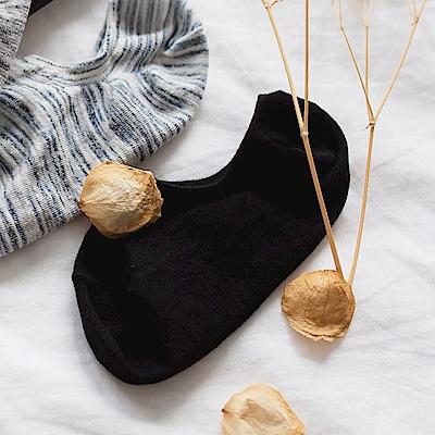 混色炫彩針織撞色女隱形襪-OB大尺碼