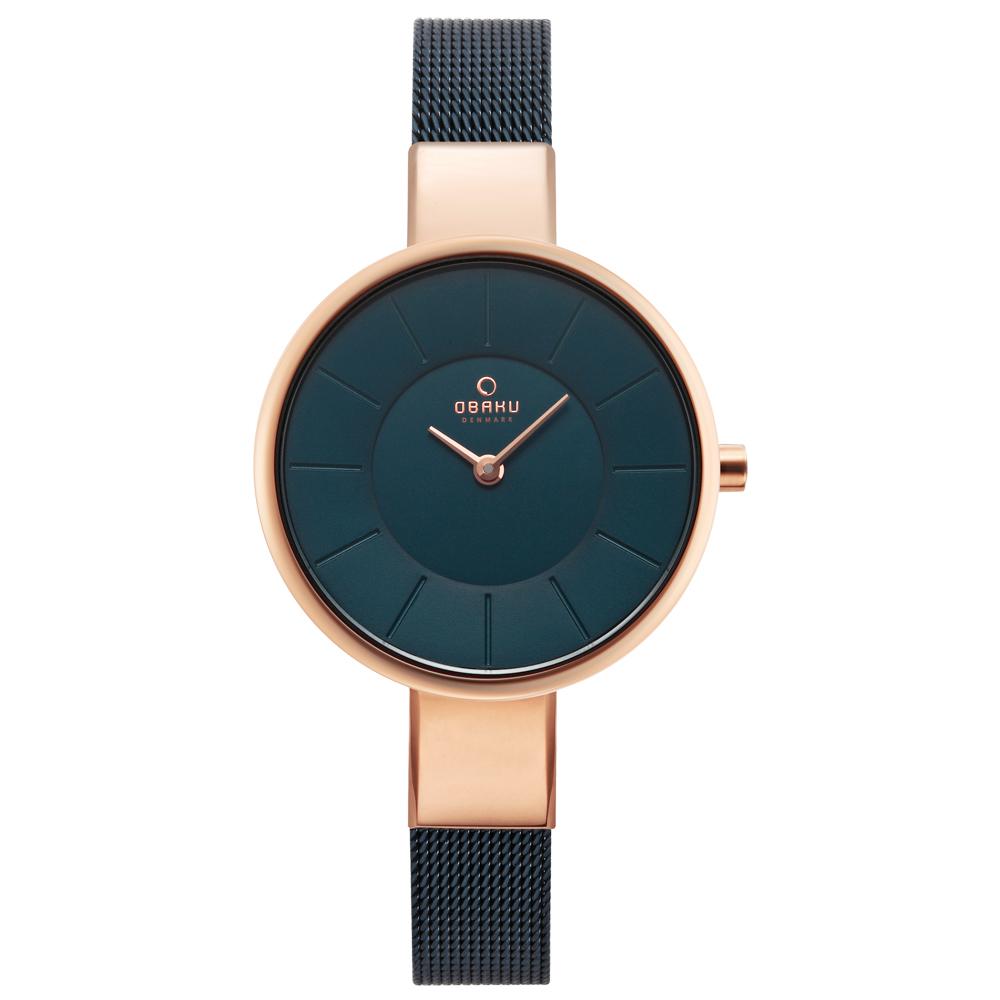 OBAKU 采麗時刻時尚米蘭帶腕錶-V149LXVLML/32mm