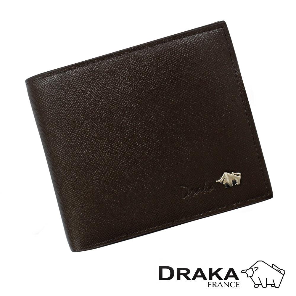DRAKA 達卡 - 皮夾/短夾/男用皮夾 當代真皮系列 - 44DK2752-2
