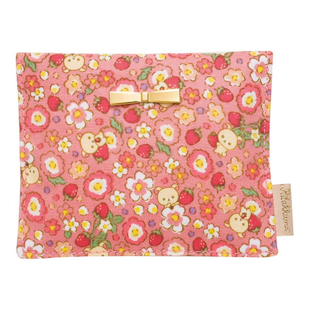 懶妹的草苺花系列面紙小物收納包