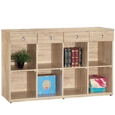 品家居黛樂5尺書櫃兩色可選-151.5x37.5x90.9cm-免組