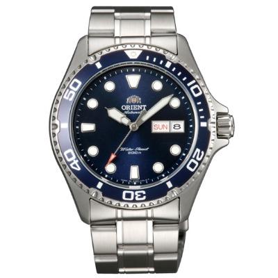 ORIENT 東方錶 藍水鬼 機械錶(FAA02005D)-藍/41.5mm