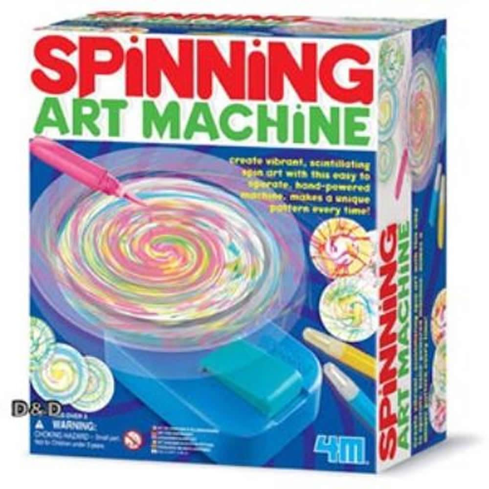 《 4M美勞創作 》Spining ART Machine 創意旋轉彩繪機