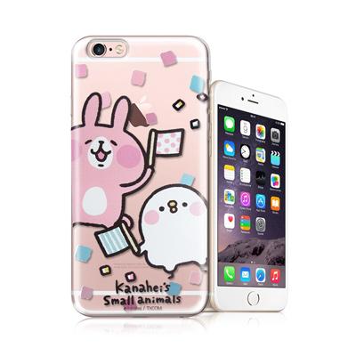 官方授權卡娜赫拉-iPhone-6-6s-4-7吋-透明彩繪手機殼-揮旗子