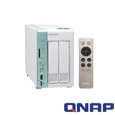 QNAP TS-251A-2G 網路儲存+WD 2TB*2超值組