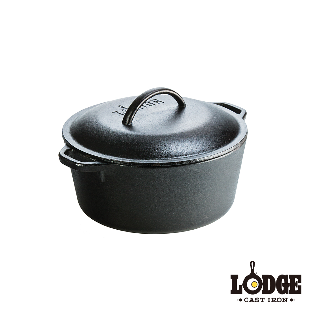 Lodge 鑄鐵荷蘭鍋 5Q
