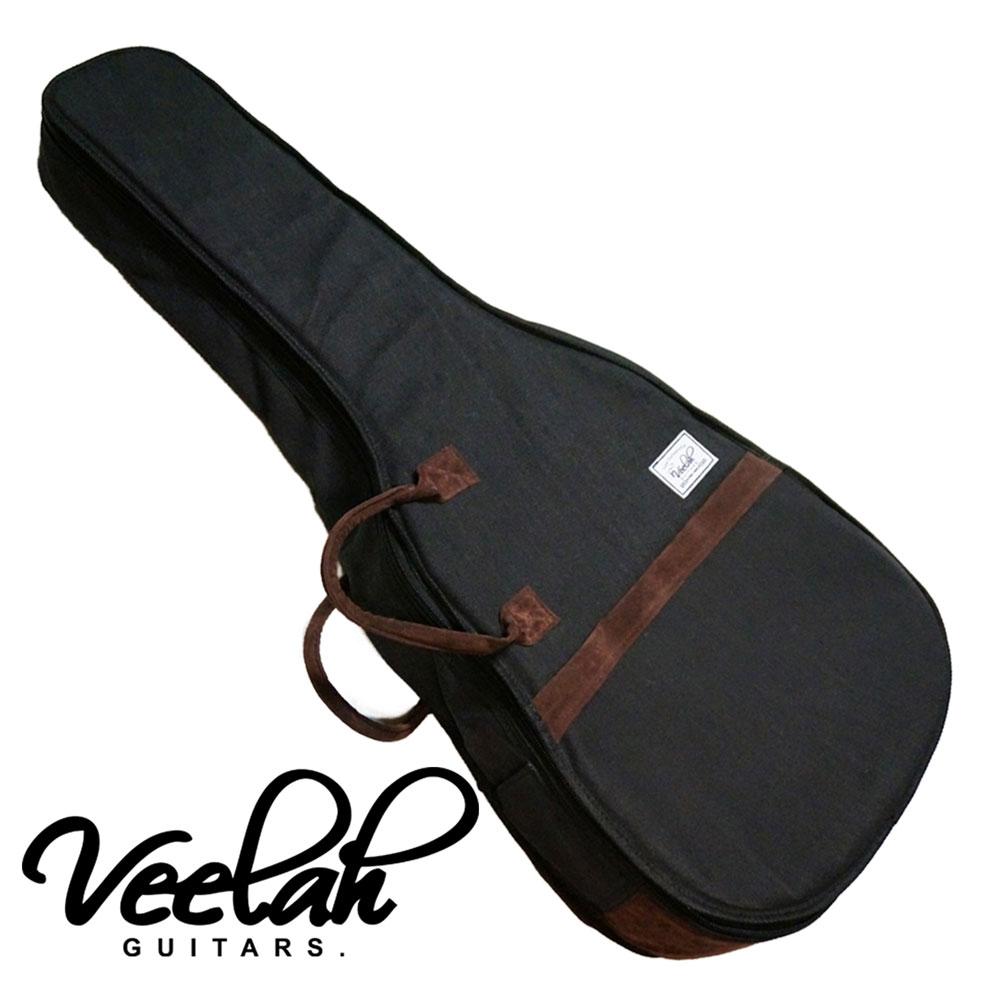 VEELAH V41-FGB 黑色民謠木吉他專用袋