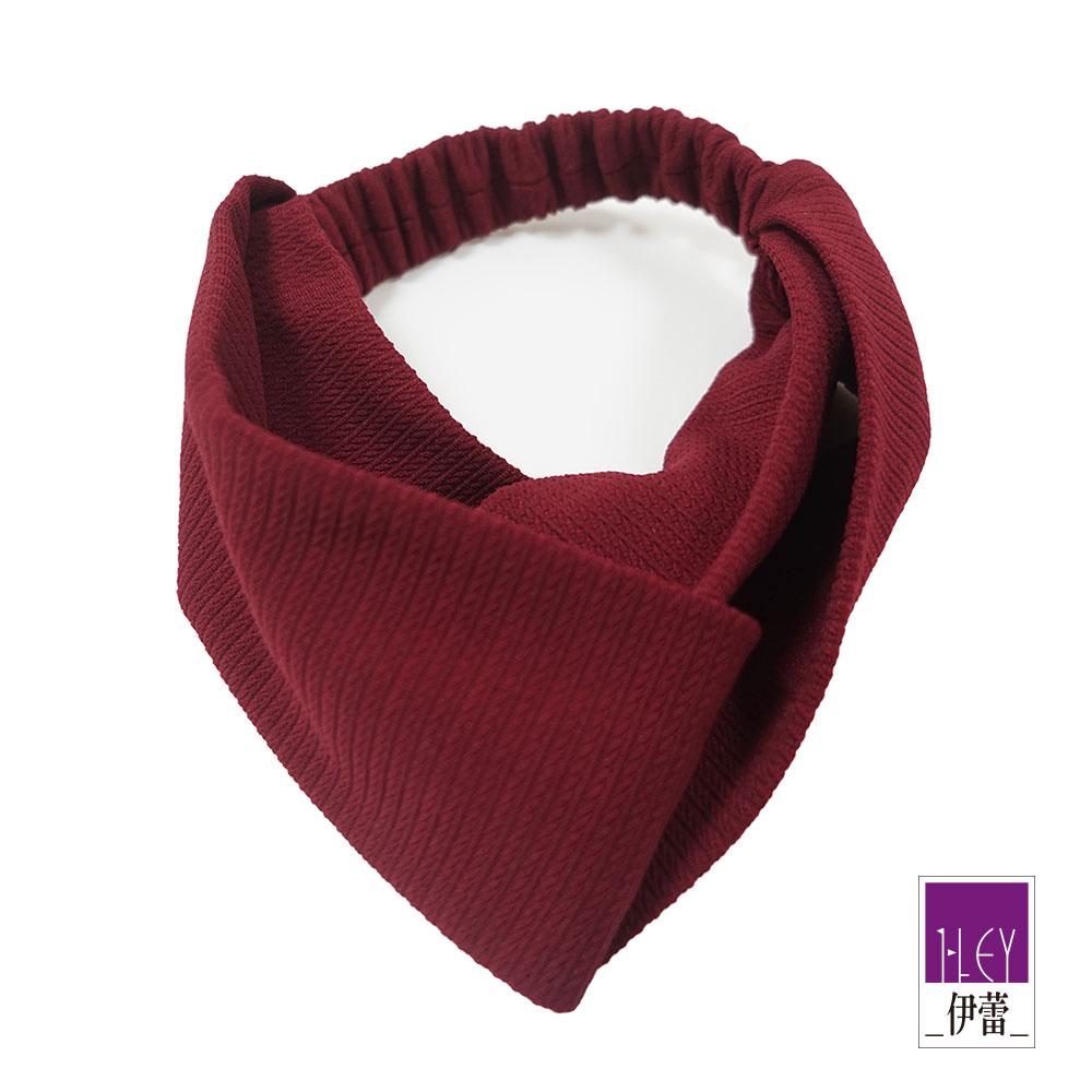 ILEY伊蕾 甜美繫結質感髮飾(藍/紅)